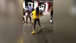 Fight at Greensboro gas station before motor vehicle assault caught on video