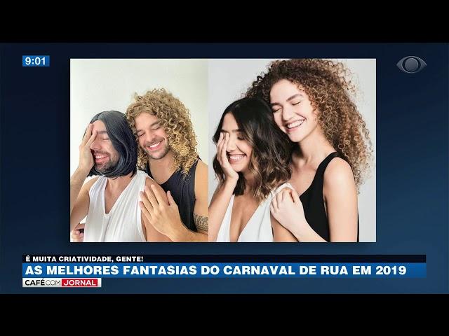 As melhores fantasias do carnaval de rua em 2019