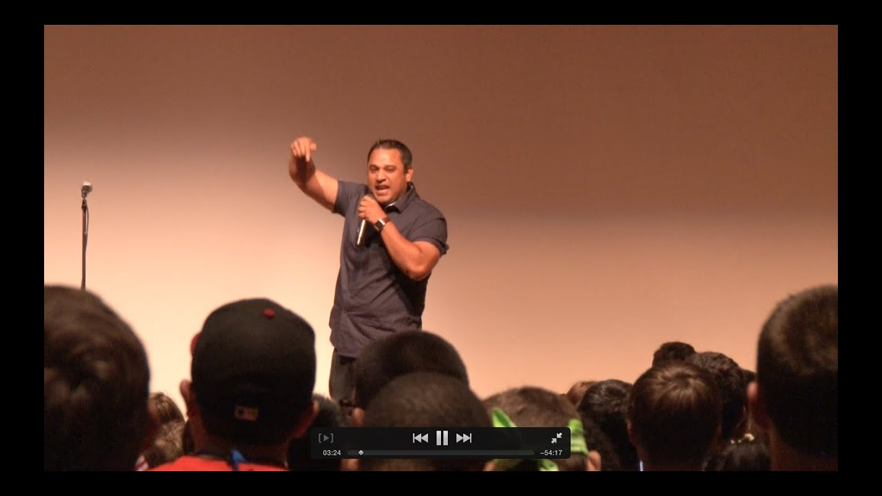 Motivational Youth Speaker | College Keynote Topics and Programs