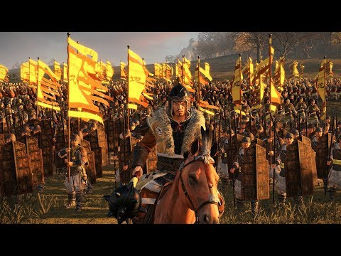 Yellow Turbans battle Liu Bei's Forces - Total War Three Kingdoms Cinematic Battle Machinima |