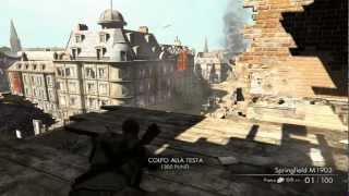 Sniper Elite V2 - Gameplay 2 Missione - Commentary ITA (HD)