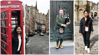Vlog | Edinburgh Old Town Tour 2018 | Royal Mile and The Grassmarket