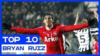 TOP 10 | De mooiste Eredivisie-goals van Bryan Ruiz