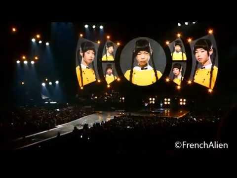 Indochine, live Zenith d'Auvergne ( 06.04.18 ) Henry Darger, Station 13