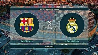PES 2019 ● Barcelona vs Real Madrid ● FINAL UEFA Champions League ● Gameplay PC