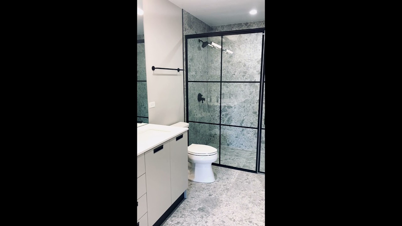 Modern Black and White Bathroom Inspiration