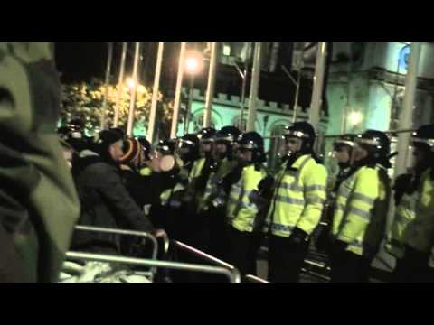 REMEMBER REMEMBER 5th NOVEMBER LONDON ANONYMOUS STREET PROTEST