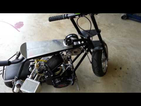 Supercharged Smog Pump Minibike