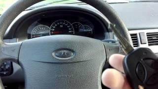 Обучить ключ в приоре на авто доводчик,и двери.