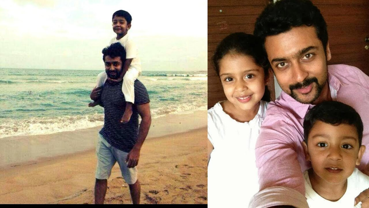 Surya Jyothika dughter Diya and son Rare and unseen PIcs ...