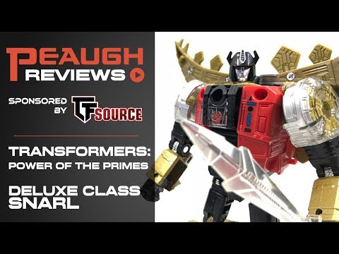 Video Review: Transformers: Power of the Primes - Deluxe SNARL