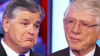 Catfight: Sean Hannity Vs. Ted Koppel