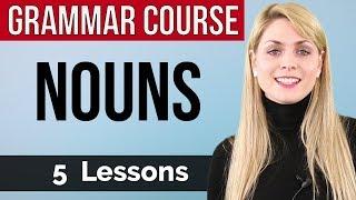 NOUNS | Basic English Grammar Course | 5 lessons
