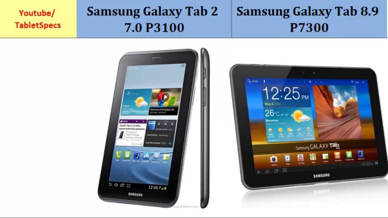 samsung tablet 2 7 0 p3100 versus samsung galaxy tab 8 9 p7300 key rh youtube com Straight Talk Samsung Galaxy S4 Samsung Galaxy S3 User Guide