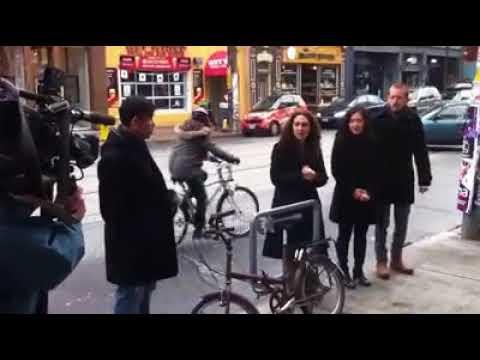 "Michael's Architectural Bike Stands ""Halo"""