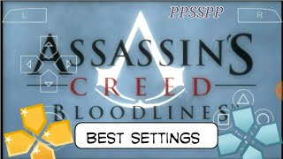 (Best Settings) Assassins Creed Bloodlines Game android | PPSSPP Emulator | Hindi