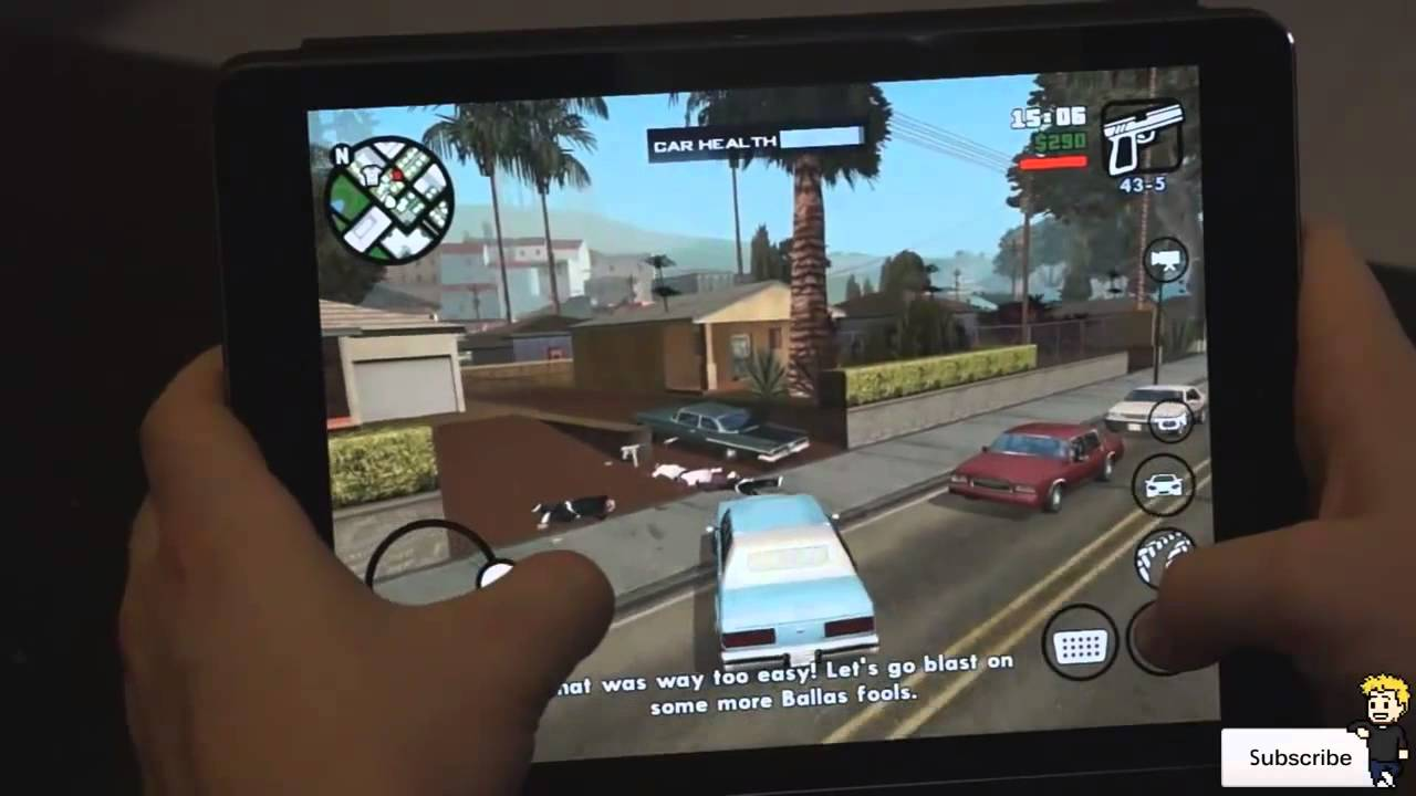 Grand Theft Auto San Andreas V1 07 Mod Apk Data Download Youtube