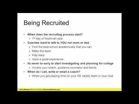 Athletic Recruiting and the NCAA