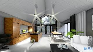 BA ARCHITEKTURA | animacja architektoniczna 3D | 3D architectural animation