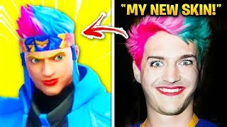 Fortnite YouTubers WHO GOT THEIR OWN SKIN! (Tfue, Ninja, World Cup)