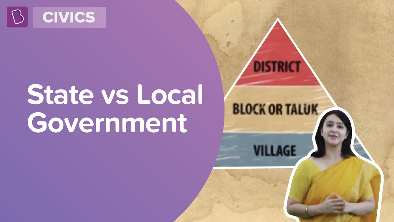 State vs Local Government   Class 6   Learn With BYJU'S