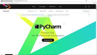 منصة برمج   شرح طريقة تحميل برنامج PyCharm وملفات Python لأجهزة الوندروز Windows