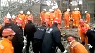 40 Killed in Construction Equipment Collapse in E China