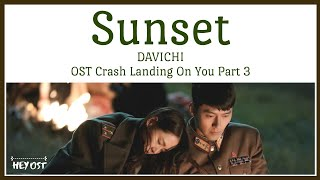 Cover images DAVICHI (다비치) - Sunset (노을) OST Crash Landing On You Part 3 | Lyrics