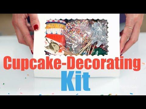 diy cupcake decorating kit diy food gifts youtube. Black Bedroom Furniture Sets. Home Design Ideas
