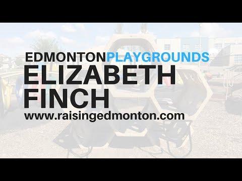 Edmonton Playgrounds: Elizabeth Finch School
