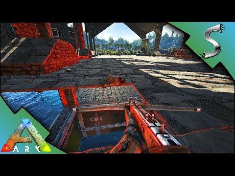 FEEDING EVO TO THE SHARKS! LIVESTREAM PRANK! - Ark: Survival Evolved [S4E37]