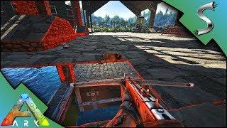 FEEDING EVO TO THE SHARKS LIVESTREAM PRANK - Ark Survival Evolved S4E37