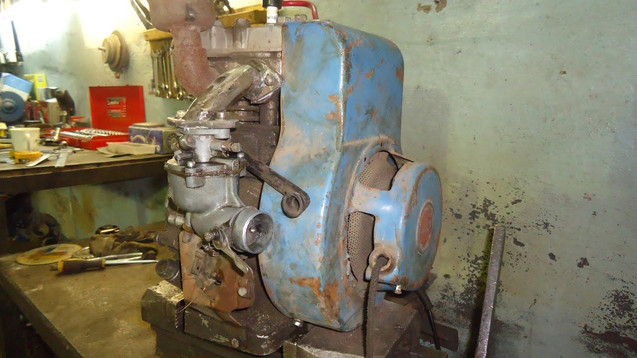 Двигатель от Мотоблока
