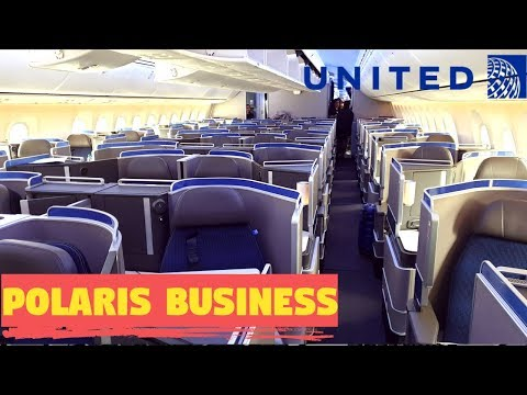 United POLARIS BUSINESS CLASS Los Angeles to Newark|Boeing 787-10