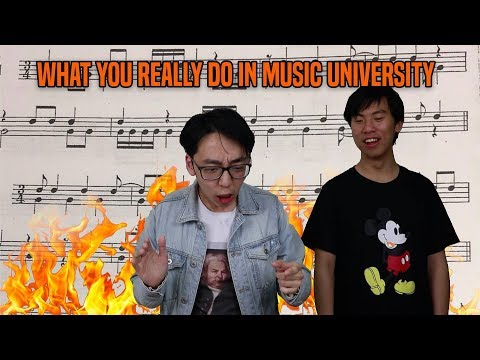 This is what you learn in Music University