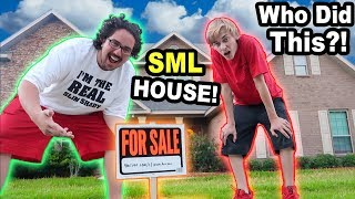 SOMEONE PUT OUR HOUSE UP FOR SALE!!