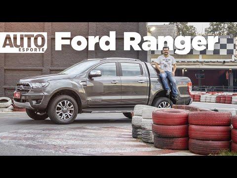 A nova Ford Ranger 2020 em uma pista de kart?