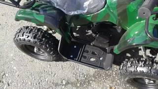 Квадроцикл детский Off-road military mini ATV 49s