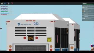 (ROBLOX/TBT) Brownsville Bound 2011 New Flyer C40LF #250 on the B35 (BONUS)
