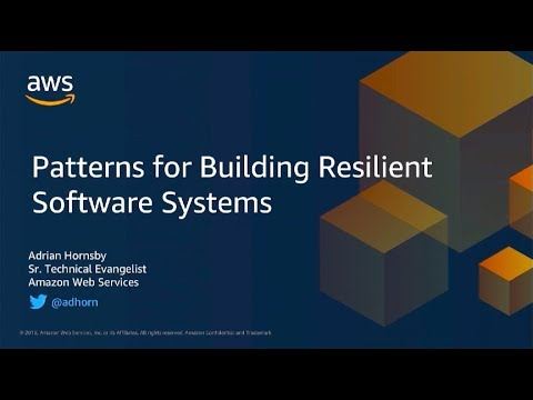 Patterns For Resilient Architecture - Adrian Hornsby