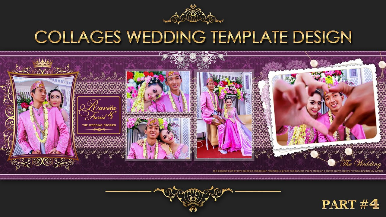 Elegant inspiration collages album wedding photoshop part 4 youtube elegant inspiration collages album wedding photoshop part 4 maxwellsz