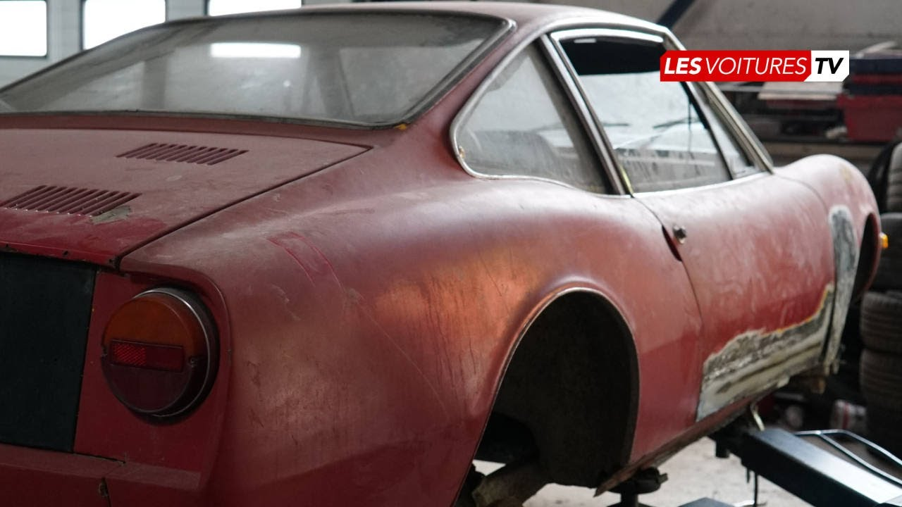 Fiat 850 Moretti Sportiva (Restauration)