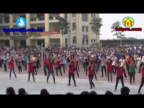 flash mob Hà Nội - Việt Nam (truong dai hoc cong nghiep Hà Nội). TETPRO club