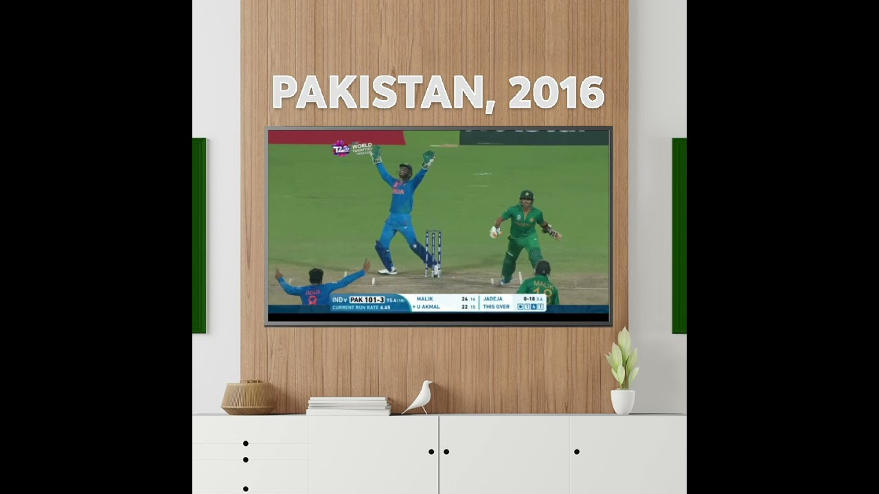 ICC T20 World Cup: A homage to the TV from 2016