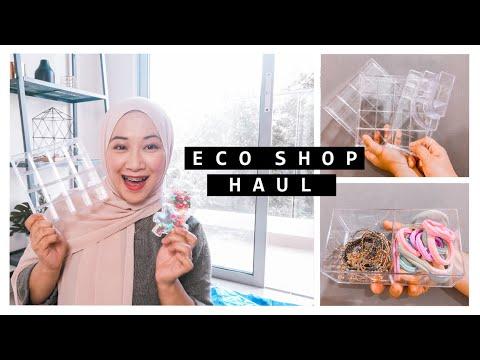 Eco Shop Haul, Beauty Tools 'Wajib' Korang Beli! | Aisha Mohd from YouTube · Duration:  10 minutes 9 seconds