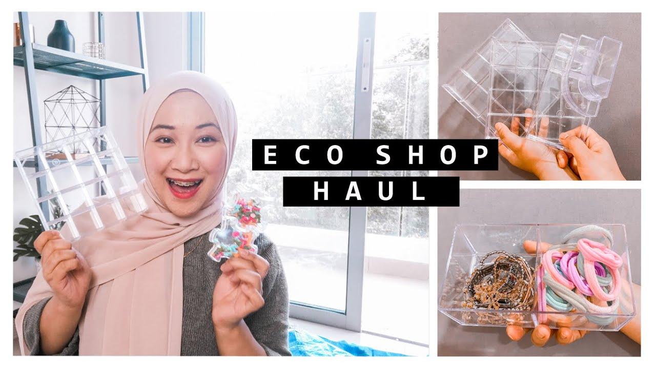 Eco Shop Haul, Beauty Tools 'Wajib' Korang Beli!   Aisha Mohd