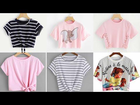 Girls T Shirt |Short T Shirt |Crop Top For Girls |Short Tops For Girls |T Shirt For Teenage Girls