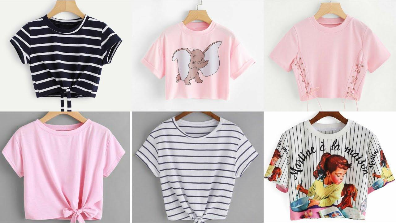 Girls T Shirt |Short T Shirt |Crop Top For Girls |Short Tops For Girls |T  Shirt For Teenage Girls - YouTube