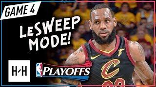 LeBron James 3 QTR Highlights - Game 4   Raptors vs Cavaliers   May 7, 2018   2018 NBA Playoffs
