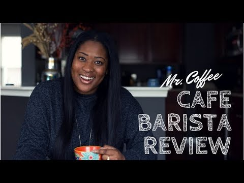 Mr. Coffee Cafe Barista Review - Drinks With Drea